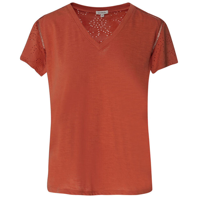 Mercy Anglaise T-Shirt -  rust