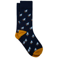 Brayson Sock -  blue-assorted