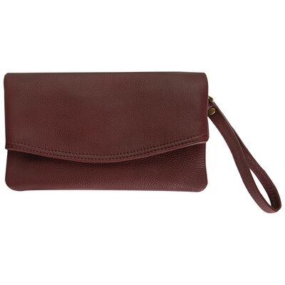 Amelie Leather Fold Over Cross Body
