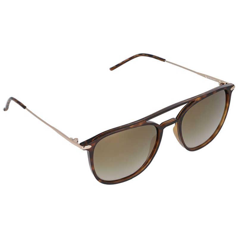 Old Khaki Ladies Double Bridge Crystal Sunglasses -  brown-gold