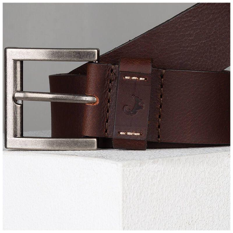 Daxton Branded Loop Detail Belt -  brown