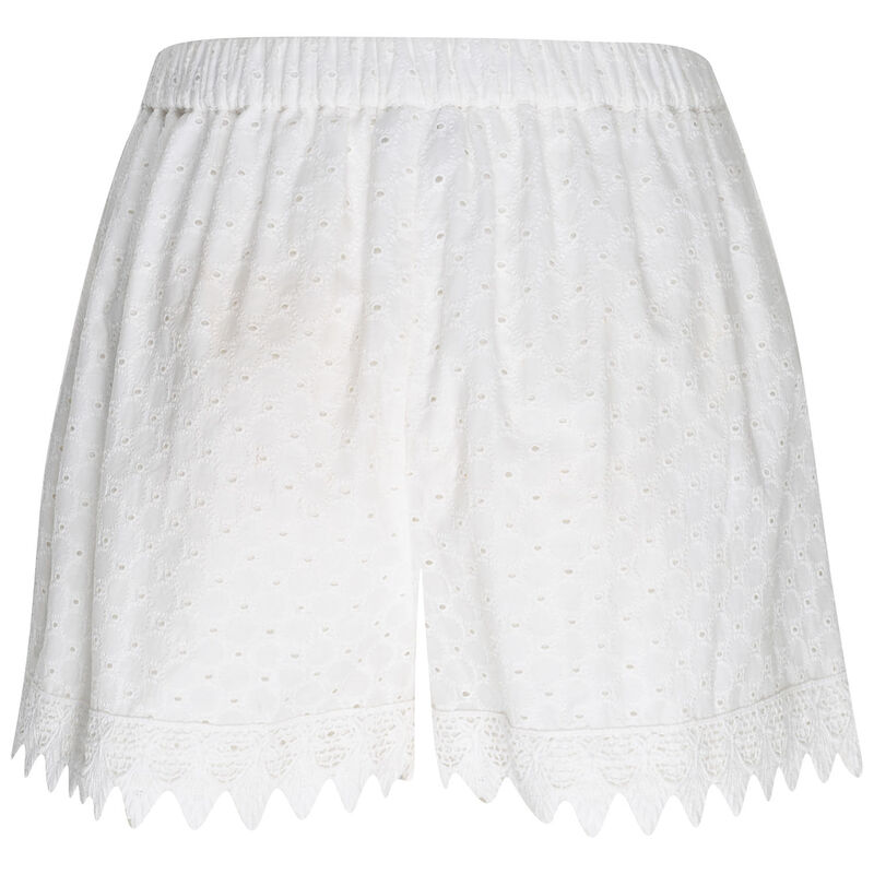 Mahra Lace Shorts -  milk