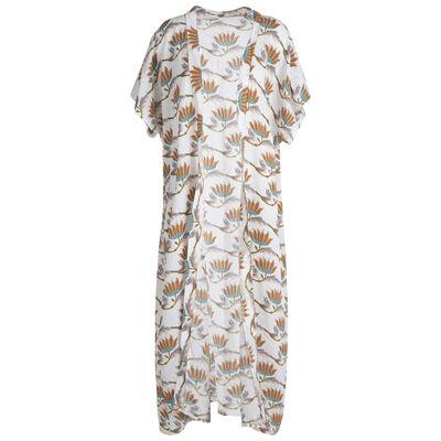 Wily Extra Length Printed Kimono