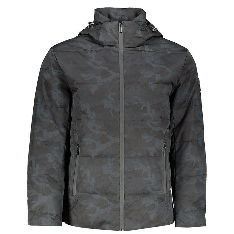 Kingsley Puffer Jacket  -  black