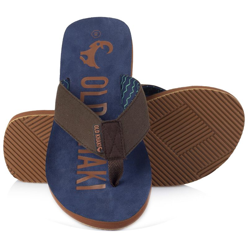 Douglas Sandal -  brown-navy