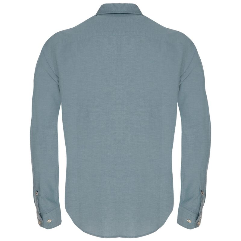 Hunter Slim Fit Shirt  -  teal