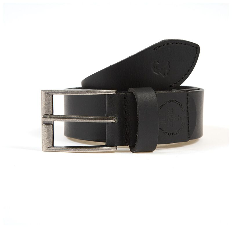 Men's Corbin Branded Belt -  black