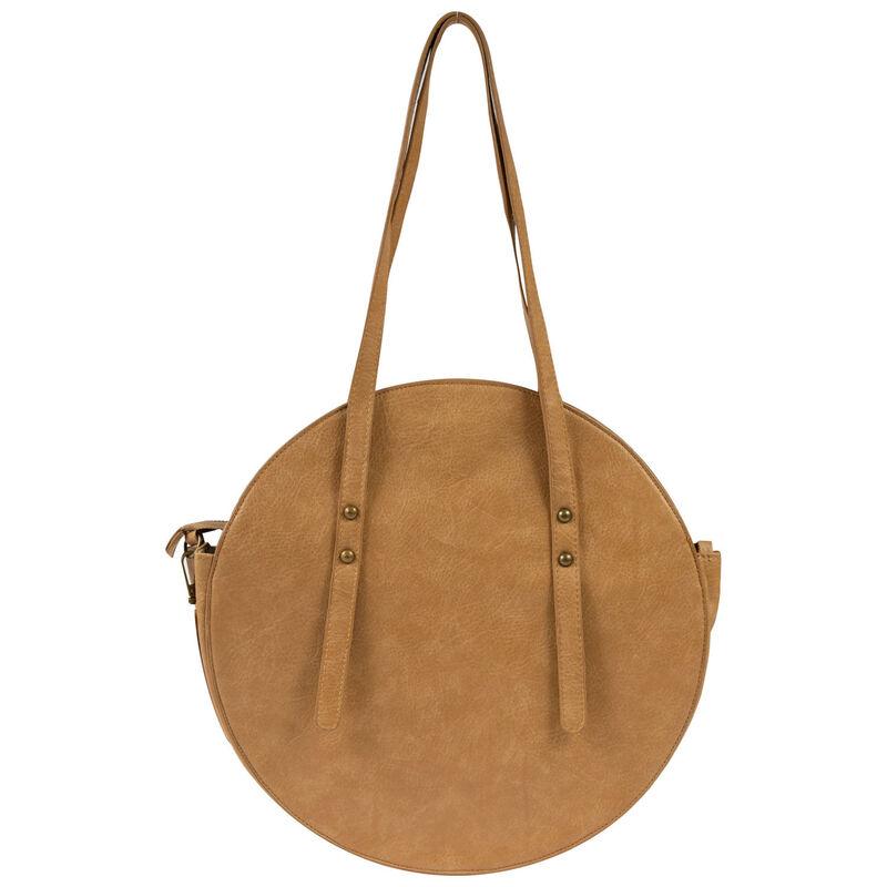 Charlotte Vegan Leather Round Bag