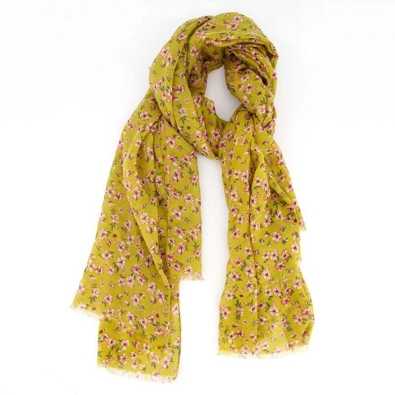 Women's Goldie Scarf -  yellow-pink