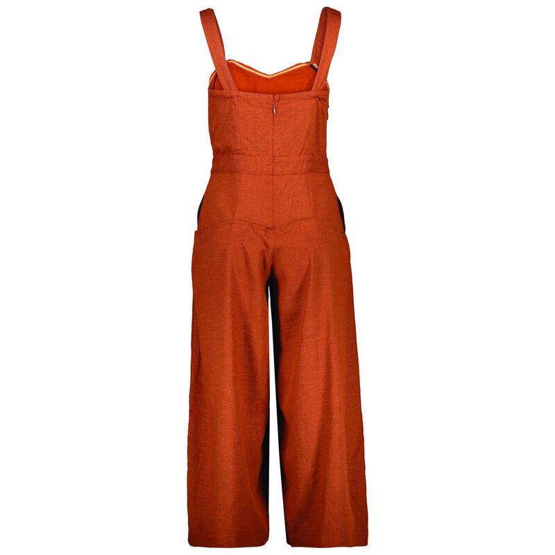 Charnie Women's Jumpsuit -  rust