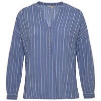 Ingrid Women's Shirt -  blue-white