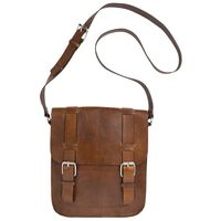 Ruben Small Messenger -  brown