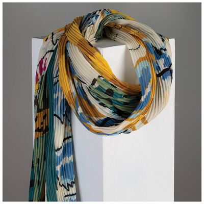 Adrienne Abstract Printed Scarf
