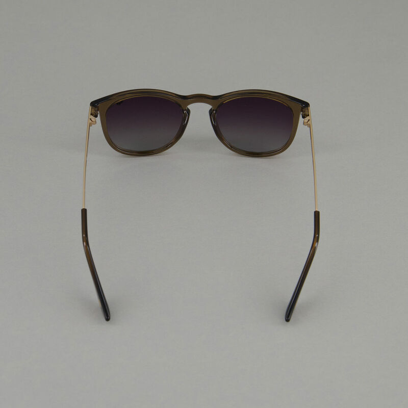 Old Khaki Men's Polarised Lounger Sunglasses -  brown-silver