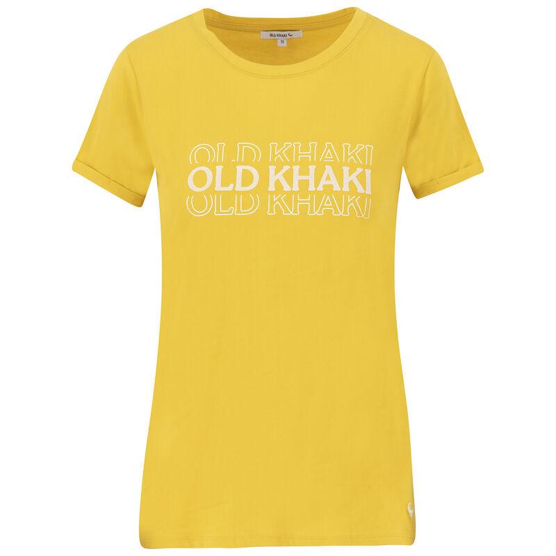 Montana T-Shirt -  yellow