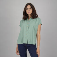 Women's Thandi Blouse -  duck-egg