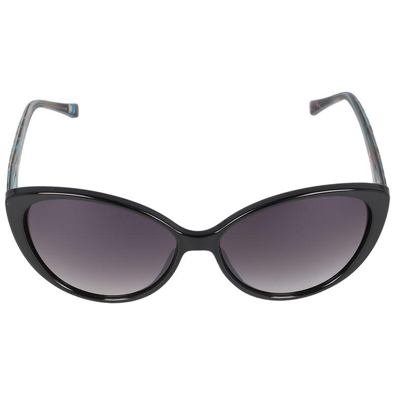 OK Ladies Classic Catseye -  black-silver