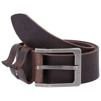 Desmond Raw Edge Leather Belt
