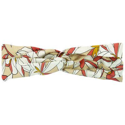 Retro Floral Print Headband