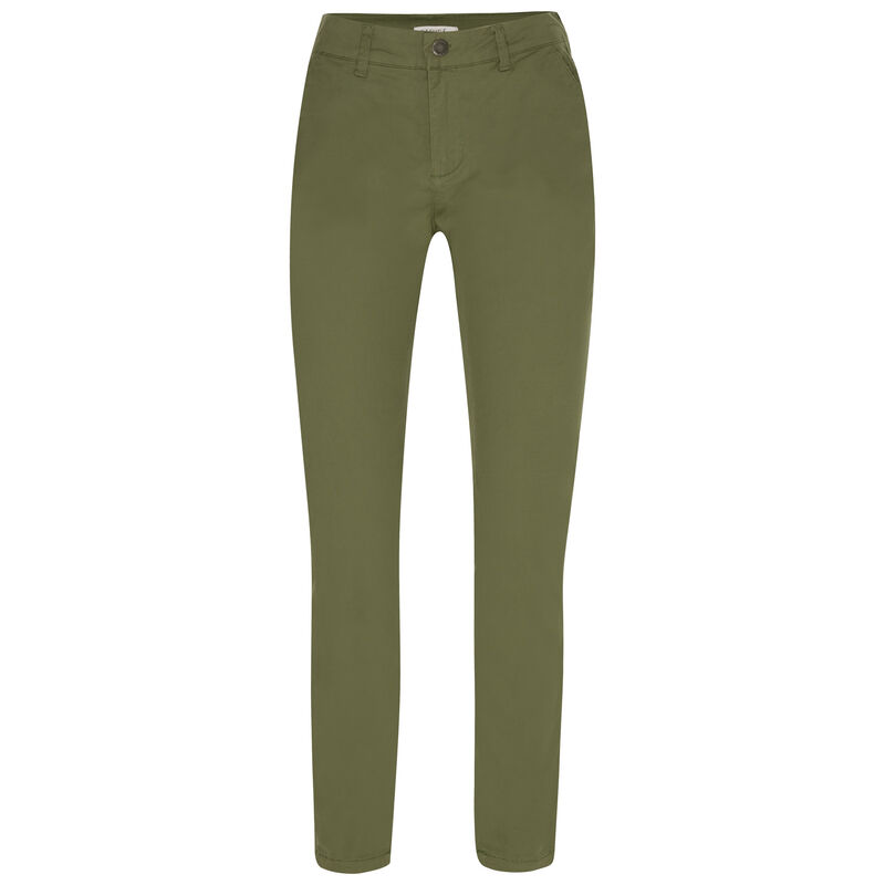 Margie Chino Pants -  olive
