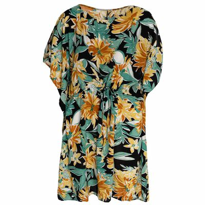 Leanna Tropical Kaftan