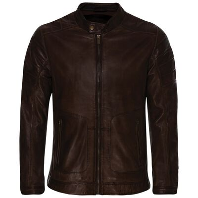 Old Khaki Men's Cam Leather Jacket