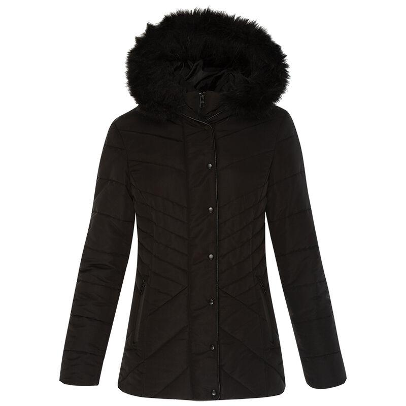 Samila Puffer Jacket -  black