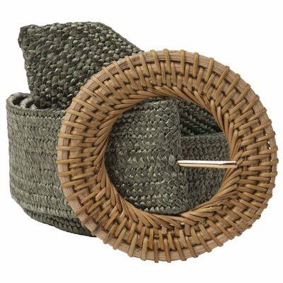 Alska Round Buckle Belt