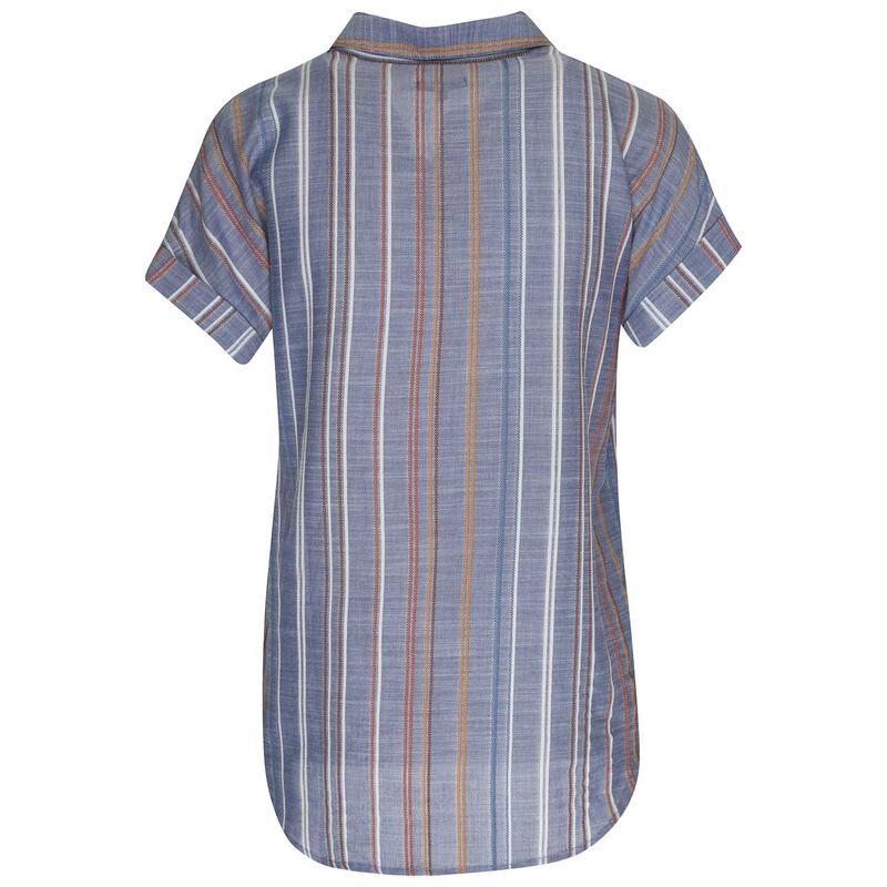 Willa Shirt -  blue-white