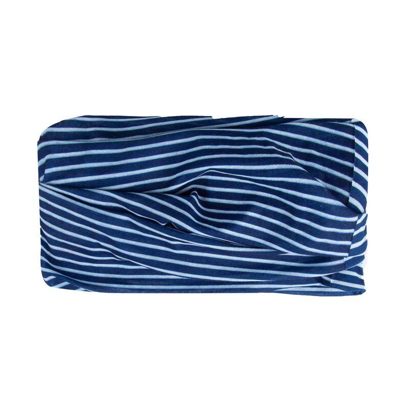 Striped Multi-Scarf -  navy-milk