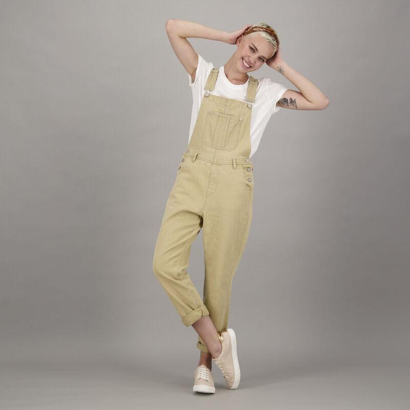 Women's Jessie Dungarees -  khaki