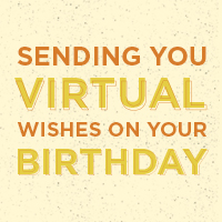 Gift Card - Virtual Birthday -