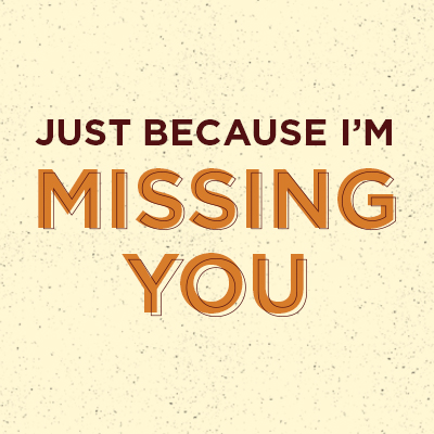 Gift Card - Missing You